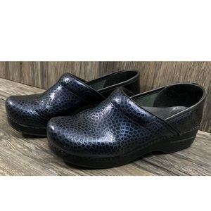 Dansko Clogs Blue Womens 39
